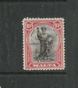 Malta 1926 Postage Postage 10/- MM SG 172