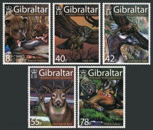 Gibraltar MNH 1098-1102 Prehistoric Wildlife 2007