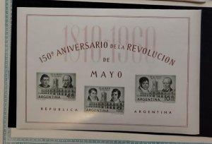 O) 1960 ARGENTINA, CABILDO, MANUEL ALBERTI AND MIGUEL AZCUENAGA, JUAN LARREA ...