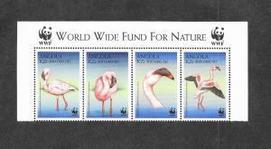 Angola 1058 Mint NH MNH Flora Fauna Birds WWF!
