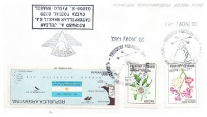 Argentina, Antarctic Cachet and/or Cancel, #133