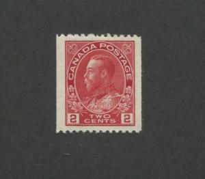 Canada 1918 King George V Admiral Issue 2c Stamp #132 CV $60