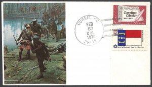 USA - 1976 - US Civil War cover, Scott 1230 and 1644
