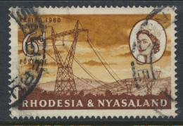 Rhodesia & Nyasaland SG 33 Sc# 173  Used Hydro Electric Scheme
