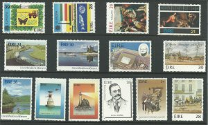 1986 Ireland Year Set Unused Never Hinged