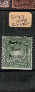 BRITISH EAST AFRICA (P1005B)  ARMS BEA OVPT   5R  SG 47   MNG