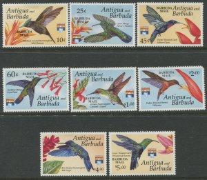 STAMP STATION PERTH Barbuda #1353-1360 Overprint Birds Issue MNH 1993 CV$58.00