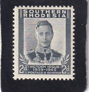 Southern Rhodesia   #    68     unused