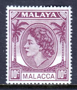 Malaya (Malacca) - Scott #35 - MH - SCV $2.00