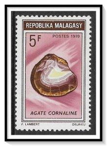 Madagascar #440 Carnelian Stone MNH