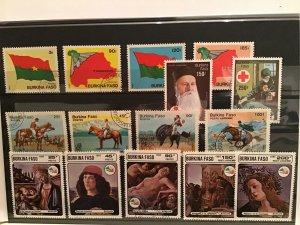 Burkina Faso stamps  R21667