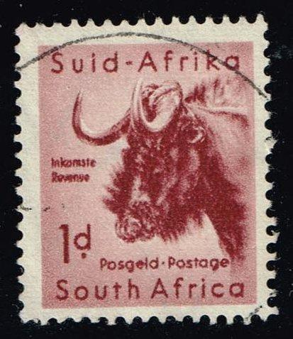 South Africa #201 Gnu; Used (0.25)