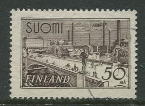Finland - Scott 239 - Hame Bridge Tampere -1942- FU - Single 50m Stamp