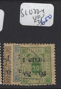 ICELAND   (PP1607B)  1  OFFICIAL  SC O22-24   VFU