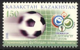 Kazakhstan Sc# 513 MNH FIFA World Cup Soccer
