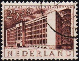 Netherlands. 1955 25c+8c. S.G.814 Fine Used