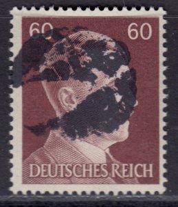 Germany Soviet Zone SBZ - LOCAL BLOSENBERG 60Pf HITLER head - Expertized Richter