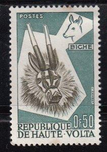 Upper Volta, SW73, MNH, 1960, Animal Maska, (AA00988)