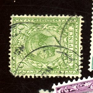 GB #183 USED FVF PULLED CORNER PERF Cat $35