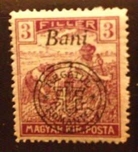 Hungary 1916,MNH 3f,(Kolozsvar) Very Fine Scott 5N3