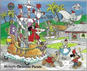 1988    GRENADA  -  SG.  MS 1087 -  ( 2 MINISHEETS)  -  CHRISTMAS  -  MNH