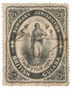 (I.B) British Guiana Revenue : Summary Jurisdiction 24c (1865)