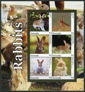 GRENADA 2020  RABBITS  SHEET MINT NH
