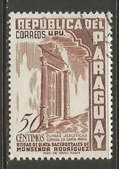 PARAGUAY 493 VFU O556-3