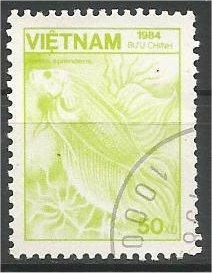 VIETNAM, 1984, CTO 50d Flora and Fauna Scott 1466