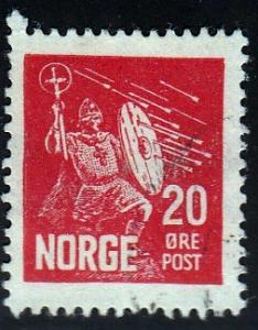 Norway #152 St. Olaf, Patron Saint of Norway, 1930. used