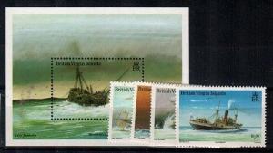 Virgin Islands Scott 572-6 Mint NH (Catalog Value $37.00)