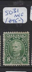 SARAWAK (P1209B) 8C  SG 31   MNG