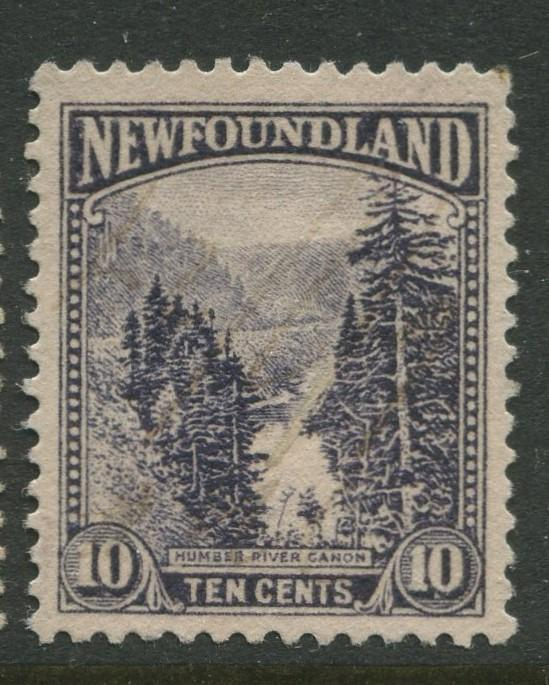 Newfoundland -Scott 139 -Pictorial Definitive Issue -1923 -MNG -Single 10c Stamp