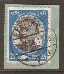 Germany #435 Used On Piece