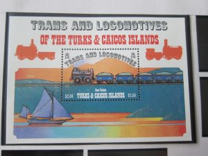 Turks & Caicos Islands 1983 Sc 554 Train MNH