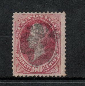 USA #144 Used Fine With Clear Grill - Expertly Reperfed At Left