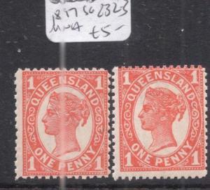 Queensland SG 232-3 MNH (3doe)