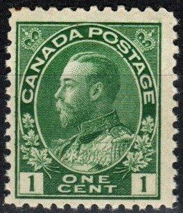 Canada #104 F-VF Unused CV $25.00 (P795)