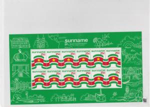 Surinam 1976 MNH Stamps Sheet Ref: R6373