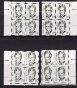 United States 1980 Prominant Americans Thom. GallaudetPlate Number Block VF/NH