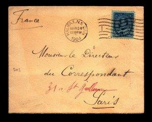 1904 Halifax Cover to Paris France - L27834