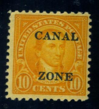 Canal Zone #87 MINT F-VF OG HR Cat$135