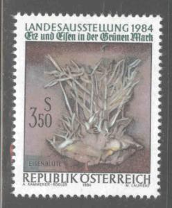 Austria Osterreich Scott 1274 MNH** 1984 ore and iron stamp