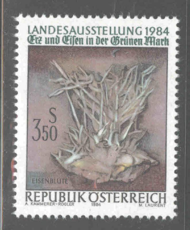 Austria Osterreich Scott 1274 MNH** 1984 ore and iron stamp