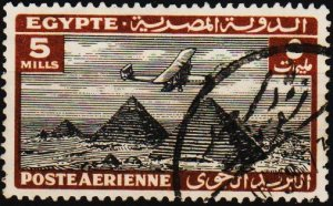 Egypt. 1933 5m S.G.198 Fine Used