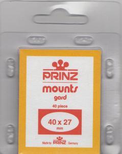 PRINZ 40X27 (40) BLACK MOUNTS RETAIL PRICE $3.99