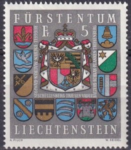 Liechtenstein #533   F-VF Unused CV $4.00  (Z4136)