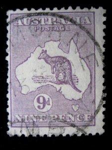 AUSTRALIA - SCOTT# 97 - USED - CAT VAL $25.00