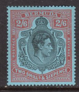 Bermuda #124a Very Fine Mint Original Gum Hinged