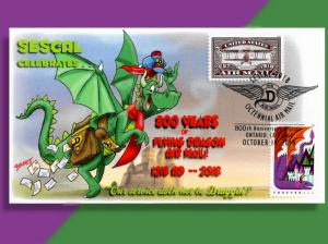 Momentous 800th Anniversary of Dragon Airmail Celebrated at SESCAL 2018